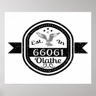 Gevestigd in 66061 Olathe Poster