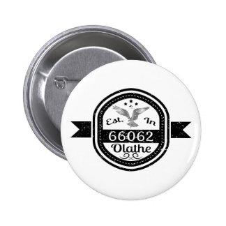 Gevestigd in 66062 Olathe Ronde Button 5,7 Cm