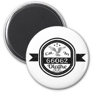 Gevestigd in 66062 Olathe Ronde Magneet 5,7 Cm