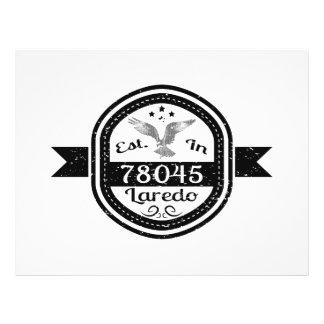 Gevestigd in 78045 Laredo Folders