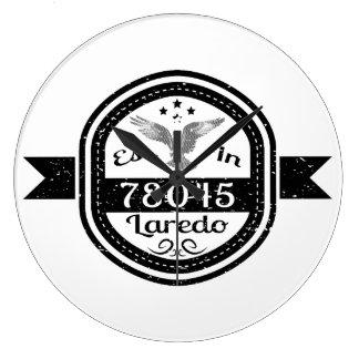 Gevestigd in 78045 Laredo Grote Klok