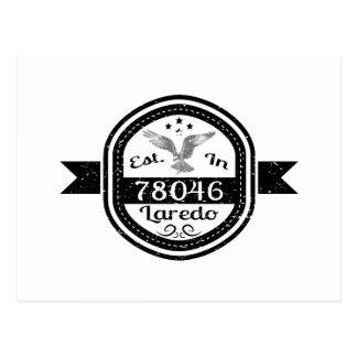 Gevestigd in 78046 Laredo Briefkaart