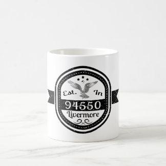 Gevestigd in 94550 Livermore Koffiemok