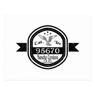 Gevestigd in 95670 Rancho Cordova Briefkaart