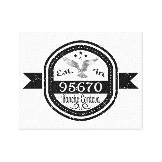 Gevestigd in 95670 Rancho Cordova Stretched Canvas Print