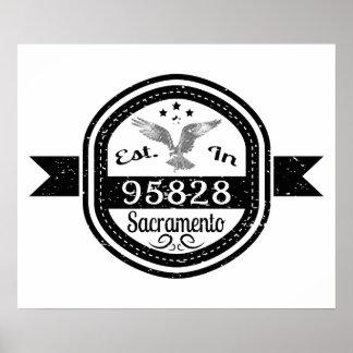 Gevestigd in 95828 Sacramento Poster