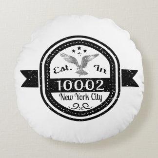 Gevestigd in de Stad van 10002 New York Rond Kussen