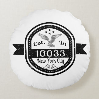Gevestigd in de Stad van 10033 New York Rond Kussen