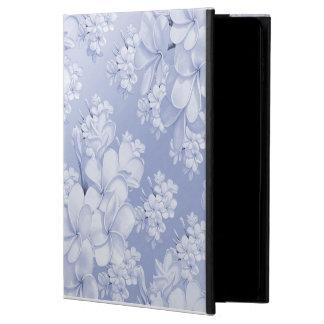 Gevoelig bloemenpatroon, blauw (i)