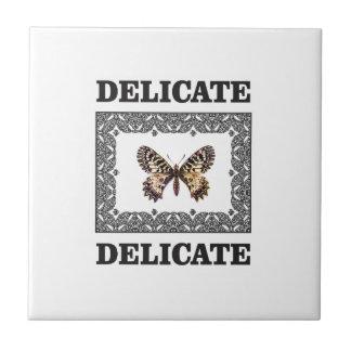 gevoelig vlinderart. keramisch tegeltje