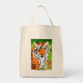 Gevoelvol tijgerbolsa draagtas