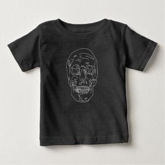 Gevoerde Schedel Baby T Shirts