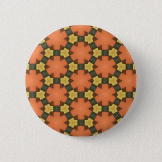 Gevormde knoop! ronde button 5,7 cm