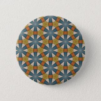 Gevormde knoop ronde button 5,7 cm