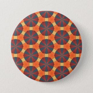 Gevormde magneet ronde button 7,6 cm