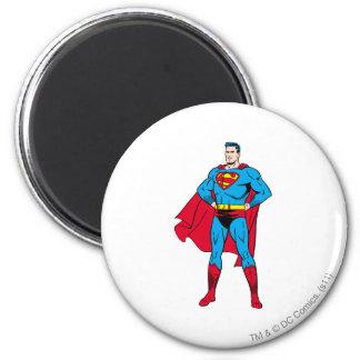 Gevouwen de Wapens van de superman Magneet