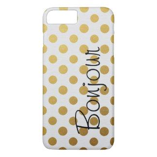 Gewaagde Gouden Stippen iPhone 8/7 Plus Hoesje