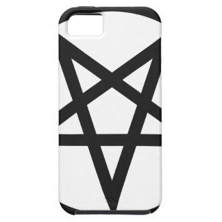Gewaagde Pentagram Tough iPhone 5 Hoesje