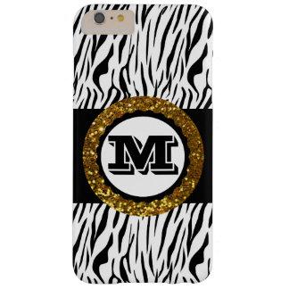 Gewaagde & Verfijnde Wilde Gouden Zwart van het Barely There iPhone 6 Plus Hoesje