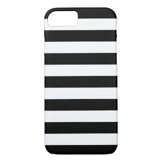 Gewaagde Zwart-witte iPhone 7 van Strepen hoesje