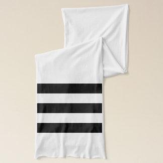 Gewaagde Zwart-witte Strepen - Sjaal Sjaal