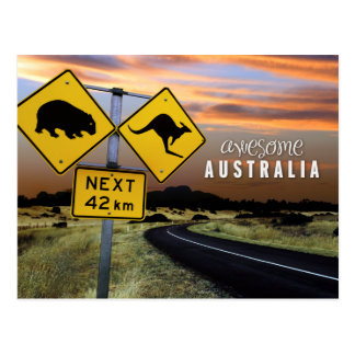geweldige Australië Briefkaart