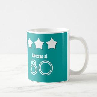 Geweldige bij de Naam van 80 Douane Verjaardag Koffiemok