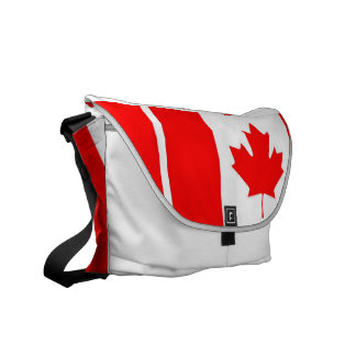 geweldige Canada boodschapperszakken Courier Bags