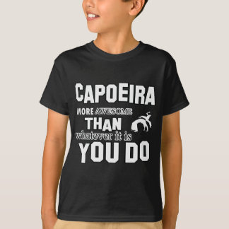 Geweldige design Capoeira T Shirt