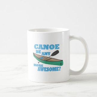 Geweldige kano koffiemok