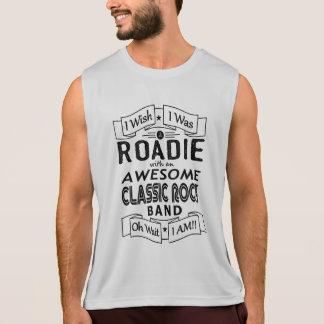 Geweldige klassieke popgroep ROADIE (blk) Hemd