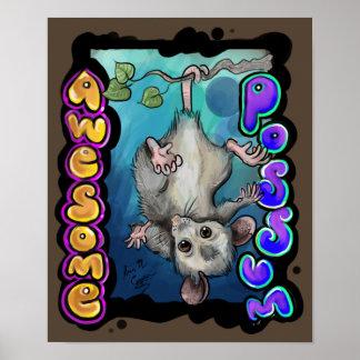 Geweldige Opossum! Poster