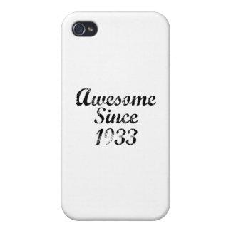 Geweldige sinds 1933 iPhone 4/4S cover
