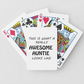 Geweldige Tante Poker Kaarten