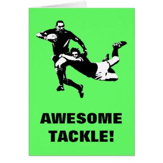 Geweldige uitrusting, Rugby Wenskaart