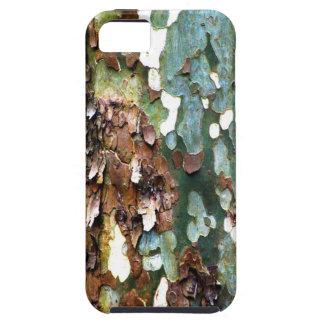Geweven iPhone 5 van de Schors van de boom nauweli Tough iPhone 5 Hoesje