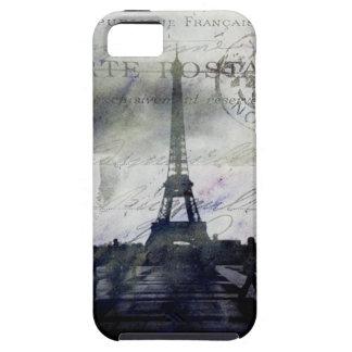 Geweven Parijs in iPhone 5 van de Lavendel Taai Ho Tough iPhone 5 Hoesje