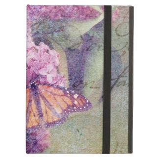 Geweven Vlinder met Seringen iPad Air Hoesje