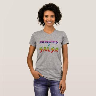 Gewijd aan salsat-shirt t shirt