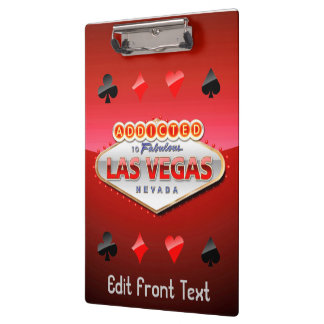 Gewijd het Grappige Teken aan van Las Vegas, Klembord