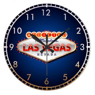 Gewijd het Grappige Teken aan van Las Vegas, Ronde Klok Large