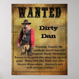 Gewild Poster Vuile Dan