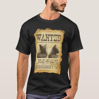 Gewilde doden en levend.  De kat van Schroedinger T Shirt