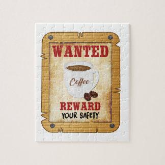 Gewilde Koffie Legpuzzel