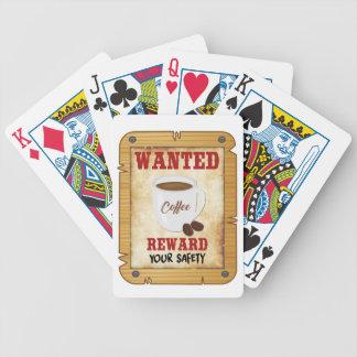Gewilde Koffie Poker Kaarten
