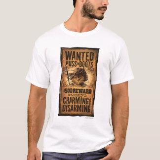 Gewilde Puss in Laarzen T Shirt
