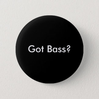 Geworden Bas? Knoop Ronde Button 5,7 Cm