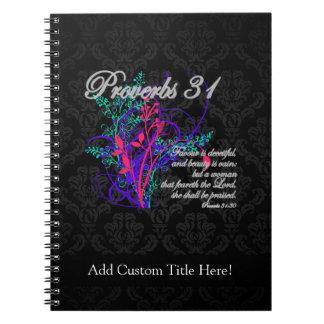 Gezegden 31 Christelijke Vrouwen van de Bijbel Ringband Notitieboek