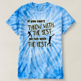 Gezette het schot werpt met het Beste Overhemd van T Shirts