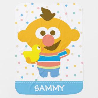 Gezicht en Duckie | van het Baby van Ernie voegen Inbakerdoek